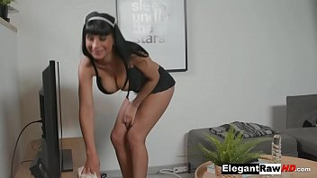 Busty French Maid Valentina Ricci Takes BBC Pounding In Her Ass