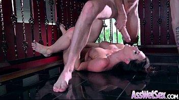 Big Oiled Ass Hot Girl (Chanel Preston) Like And Enjoy Deep Anal Sex mov-21 porn image
