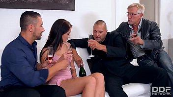 Pimp recruits Loren Minardi for a Double Penetration Party thumbnail