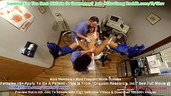 $CLOV - Jackie Banes Undergoes Orgasm Research, Inc By Doctor Tampa & Nurse Lilith Rose @ GirlsGoneGyno.com