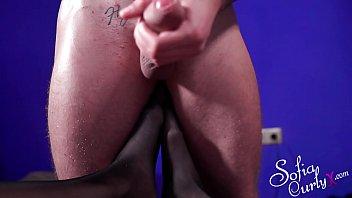 Big Natural Tits MILF Footjob Huge Cock and Cumshot POV صورة