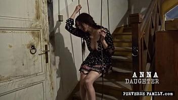 Perverse Family - Busty bondage teaser