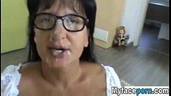 Booty Frau ass creampied auf echte hausgemachte