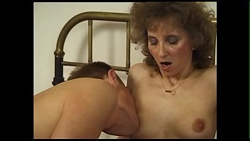 Older German Housewife Is Happy To Finally Have A Young Man In Bed Again