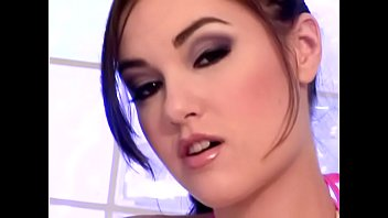 Playful darkhaired college girl Sasha Grey would study Italian fashion with great and good pleasure