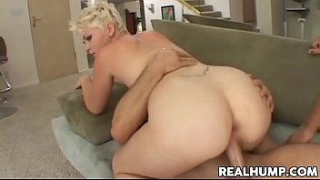 Natural Blonde Babe Claudia Downs Gets Double Penetration