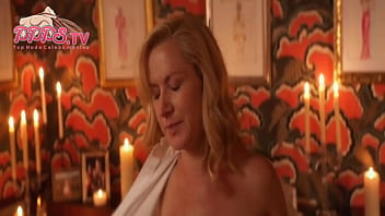 Top nude celeb scenes 2018 popular show angela kinsey nude show her cherry tits from half magic sex scene on ppps.tv