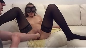 Young V enjoys TWO MALE FISTS up her vagina!