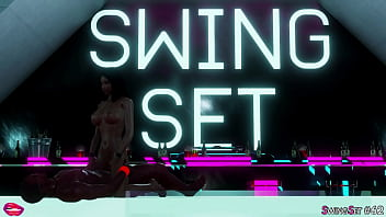 Upskirt swingset Swingset party 8