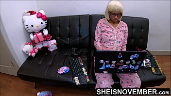 I Seduced My Step Dad While Mom Is s., kuwaii Black Step Daughter Msnovember Doing Home Work & Playing Fortnight Then Violently Fucked By Daddy BBC Doggystyle POV Hardcoresex, Tiny EbonyPussy In Hello Kitty Butt Flap Pajamas Geeksex On Sheisnove