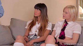 Atkingdom zazie hairy X-rated after school studies - extremely hot teen threesome