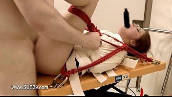1-المتطرفة لعبة الجنس الشرجي مع حبل BDSM المعلم -2015-09-26-08-48-049