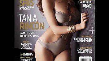 Tania Rincón en Revista Open