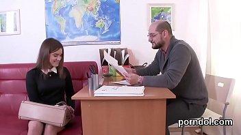 Elegant Schoolgirl Is Seduced And Reamed By Her Elderly Schoolteacher