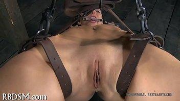 Girls in shocking bdsm - Shocking hottie into submission