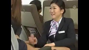 Video sex new Asian Flight attendant online high speed