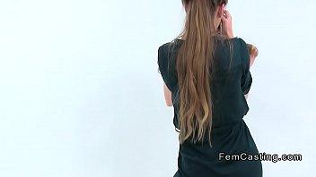 xvideshd • amateur teen model toyed by female agent thumbnail