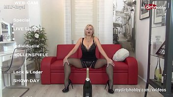 MyDirtyHobby - Step Mom Milf Royal teaches step son how to be a slave