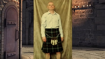 What will you see when the kilt comes off?