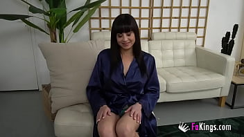 A Cock Up Her Ass! She Doesn't Need Anything Else