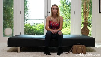 Skinny Blonde Teen Macy Meadows Calendar Audition