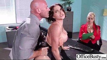 Big Tits Girl (krissy lynn) Enjoy Hardcore Bang In Office movie-19