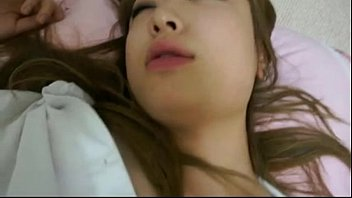 sleeping korean girlfriend