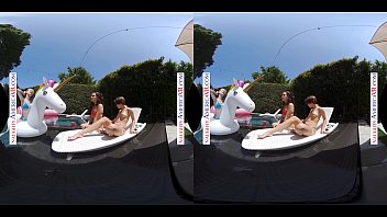 Naughty America Step Daughter and friend's have summer fun with Step Dad thumbnail