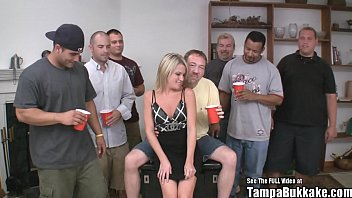 Small Titty Country Blonde Wild Gangbang 6 min