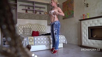 Blonde MILF Terry - Hidden spy cam