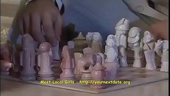 Hot European Brunette Playing Chess For Fuck 22 Min