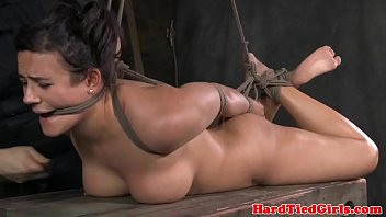 Restrained Bondage Sub Tied Up