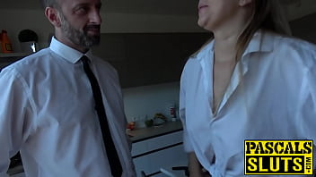 UK dom loves pounding this submissive chick like a slut 10 min
