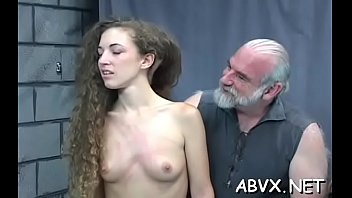 In nature's garb doll amazing fetish bondage sex scenes with old man
