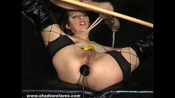 Bizarre Anal Banana Humiliation and Sick Torments of english amateur milf Emma
