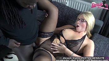 German blonde teacher milf with glasses get fucked in amateur porn