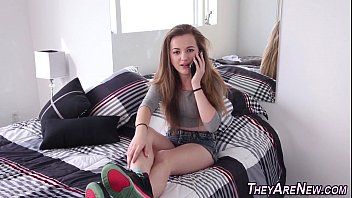 Teen first timer creampie 8 min