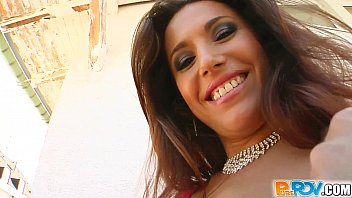 Pure Pov I spunked all over this stunning stripper's face 12 min