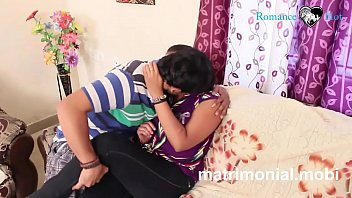 Indian young boy and girl Romance  at Her House 4 min