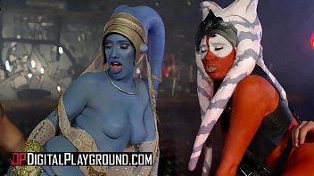 (Marc Rose, Eva Lovia, Alessa Savage, Aria Alexander, Luke Hardy) - Star Wars Underworld A XXX Parody Scene 6 - Digital Playground
