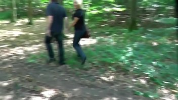 Spontaneous Encounter In The Woods