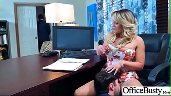 (Cali Carter) Hot Office Girl With Big Tits Love Hardcore Sex movie-06