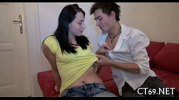 Legal age teenager babe craves some sex