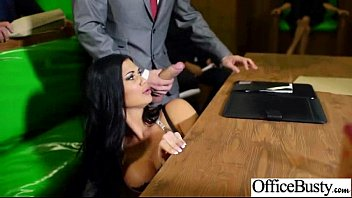 Amateur huge tits movies - Sex tape in office with huge round juggs sexy girl jasmine loulou movie-20