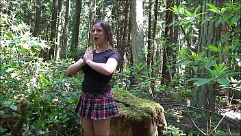 Teacher student porn cheerleader - Cheerleader fucked in the woods - erin electra