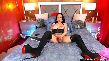 Transsexual msn address Shemale camgirl in boots wanks big cock