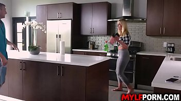 Seductive Milf Rachael Cavalli Loves Helping Her Brother In Law Doing House Chores. She Likes And Seduces Him And Let Him Slams Her Pussy.