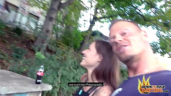 PublicSexDate - Natural Teen Mina Creampied by Stranger in the Park 36 min