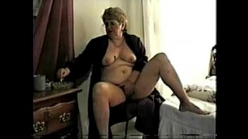 Horny granny smoking and fingerig. Amateur