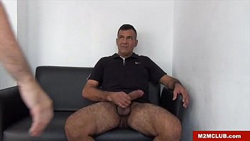 Str8 Hung Bear fucking a twink